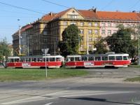 Прага. Tatra T3 №8059, Tatra T3 №8097