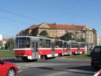 Прага. Tatra T6A5 №8644