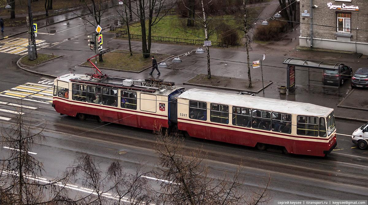 Санкт-Петербург. ЛВС-86К №5207