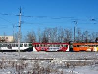 Комсомольск-на-Амуре. 71-132 (ЛМ-93) №44, РВЗ-6М2 №150, РВЗ-6М2 №05