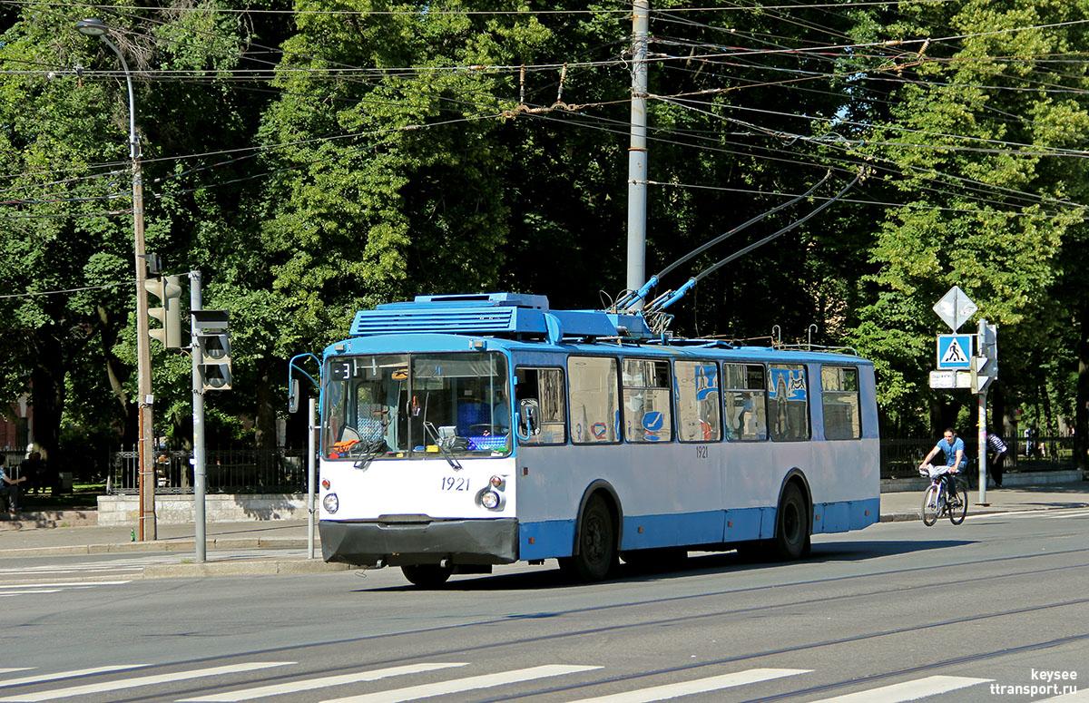 Троллейбусы санкт-петербурга - фотогалерея за 2014 год, май - твой транспорт