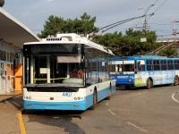 Крым. Богдан Т70115 №4407, Škoda 14Tr02/6 №2008