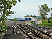 Хабаровск. Депо на станции Юбилейная Хабаровской детской железной дороги