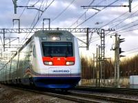 Санкт-Петербург. Скоростной электропоезд Sm6 Allegro, маршрут Хельсинки-Санкт-Петербург