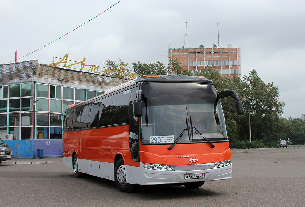 Комсомольск-на-Амуре. Daewoo BH120F к881ув