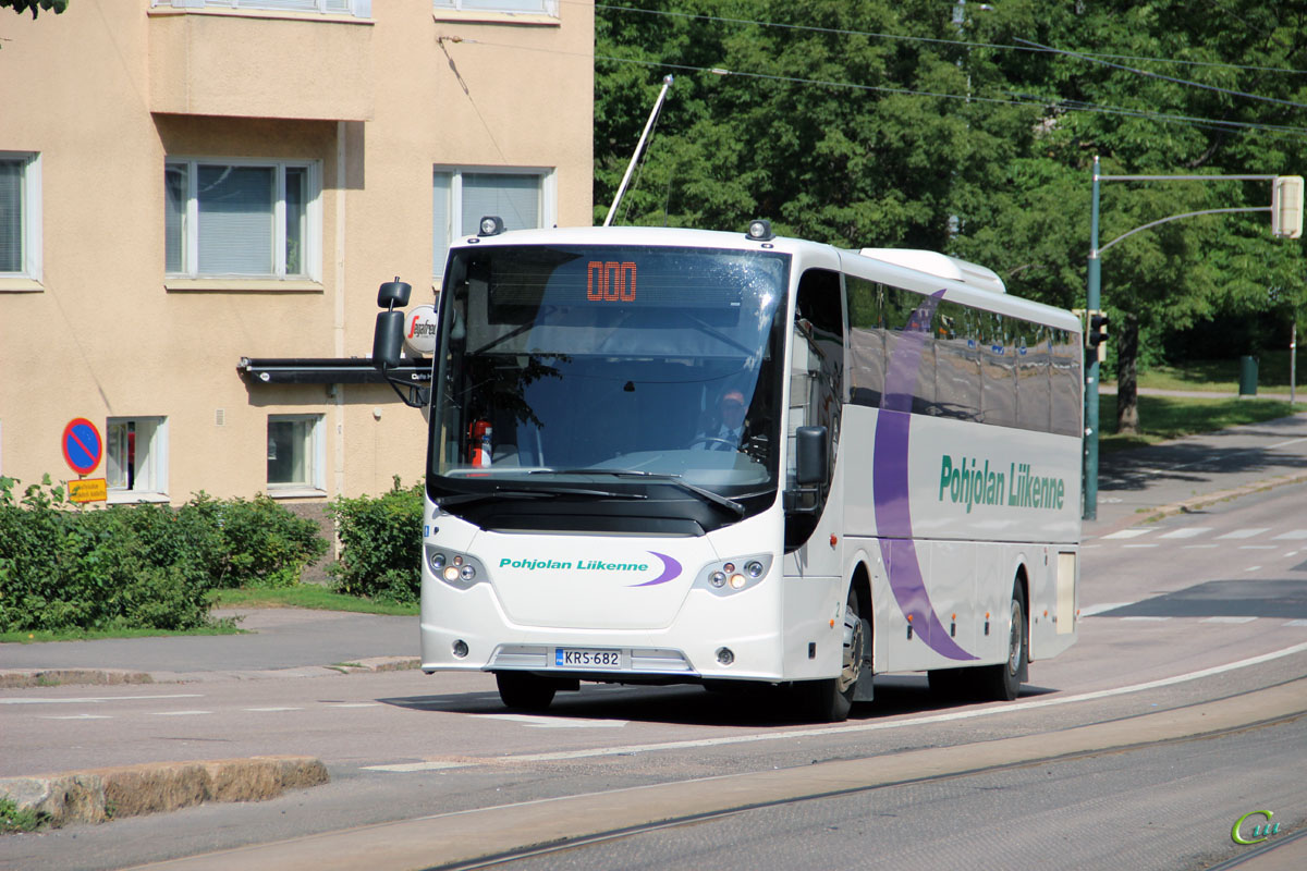 Хельсинки. Scania OmniExpress 340 KRS-682