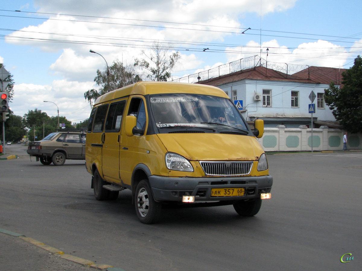 Тамбов. ГАЗель (все модификации) ак357