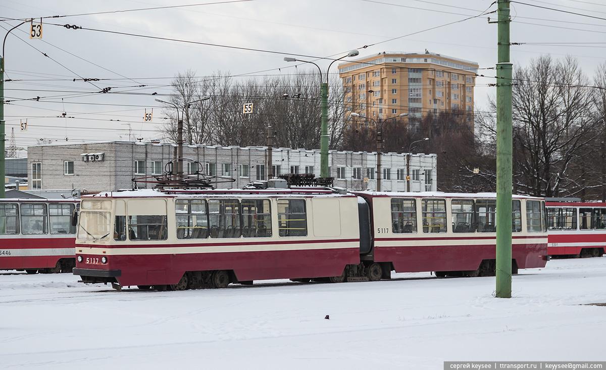 Санкт-Петербург. ЛВС-86К №5117