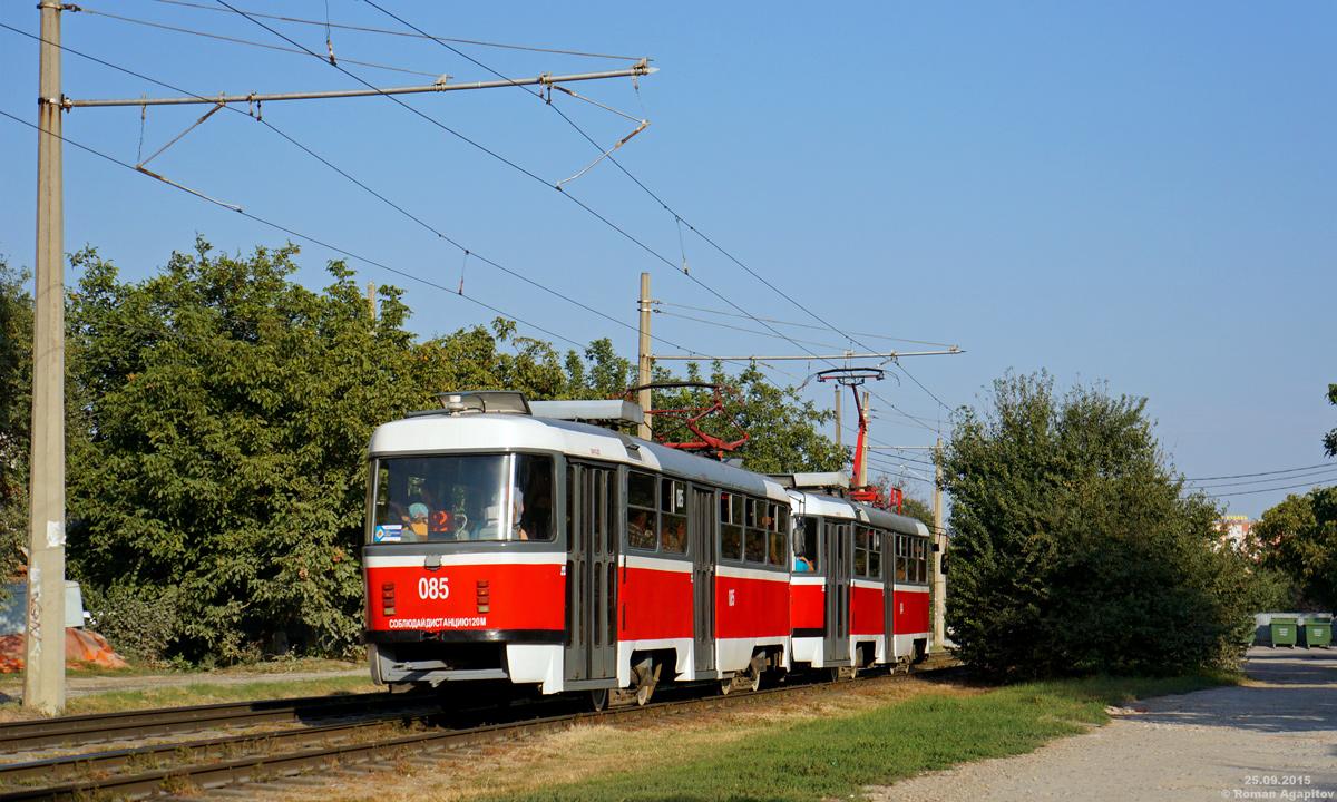 Краснодар. Tatra T3SU №085