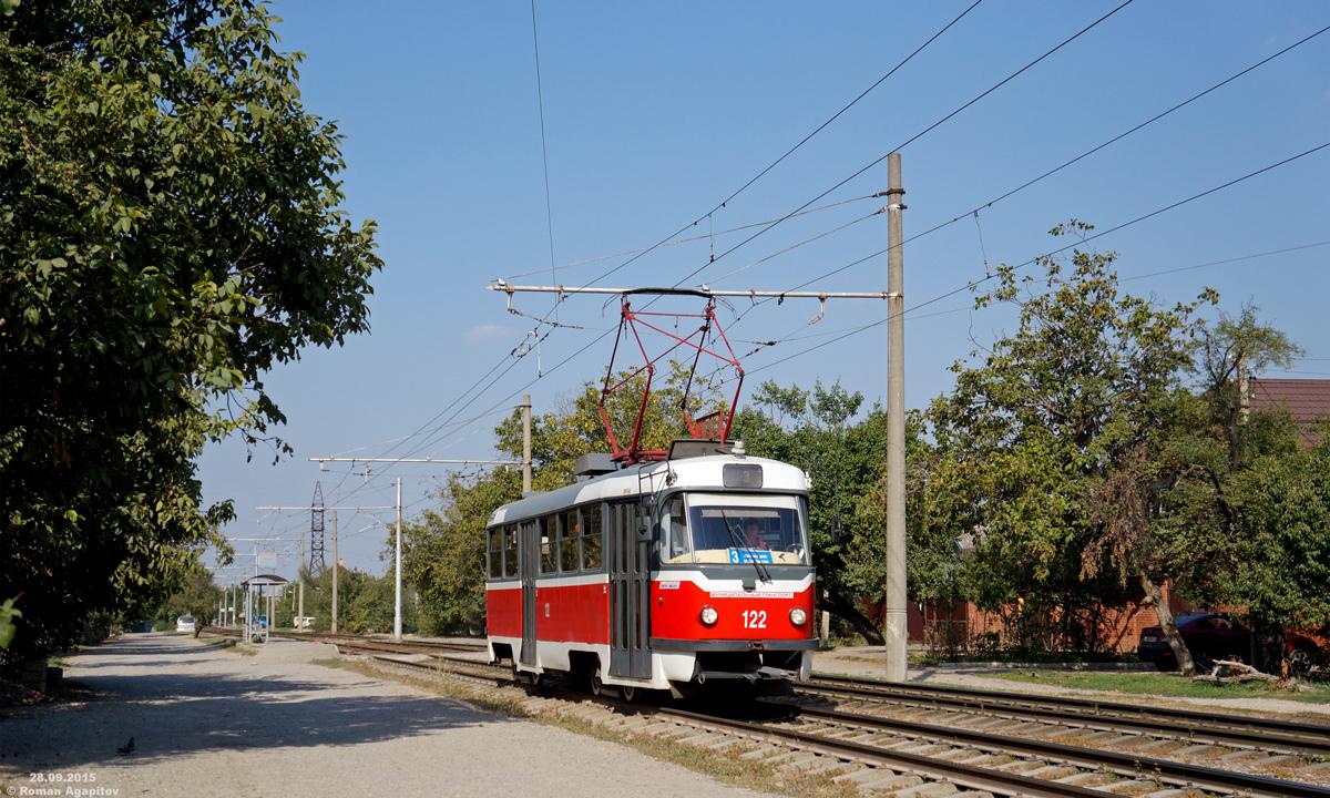 Краснодар. Tatra T3SU №122