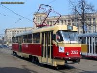 Москва. Tatra T3 (МТТЧ) №3382