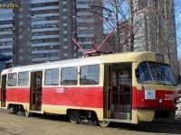 Москва. Tatra T3 (МТТЧ) №3389
