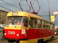 Москва. Tatra T3 (МТТЧ) №3369