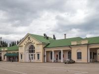 Железнодорожный вокзал с проспекта Айвазовского