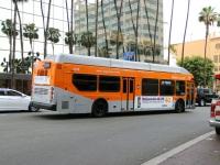Лос-Анджелес. New Flyer XN40 1454001