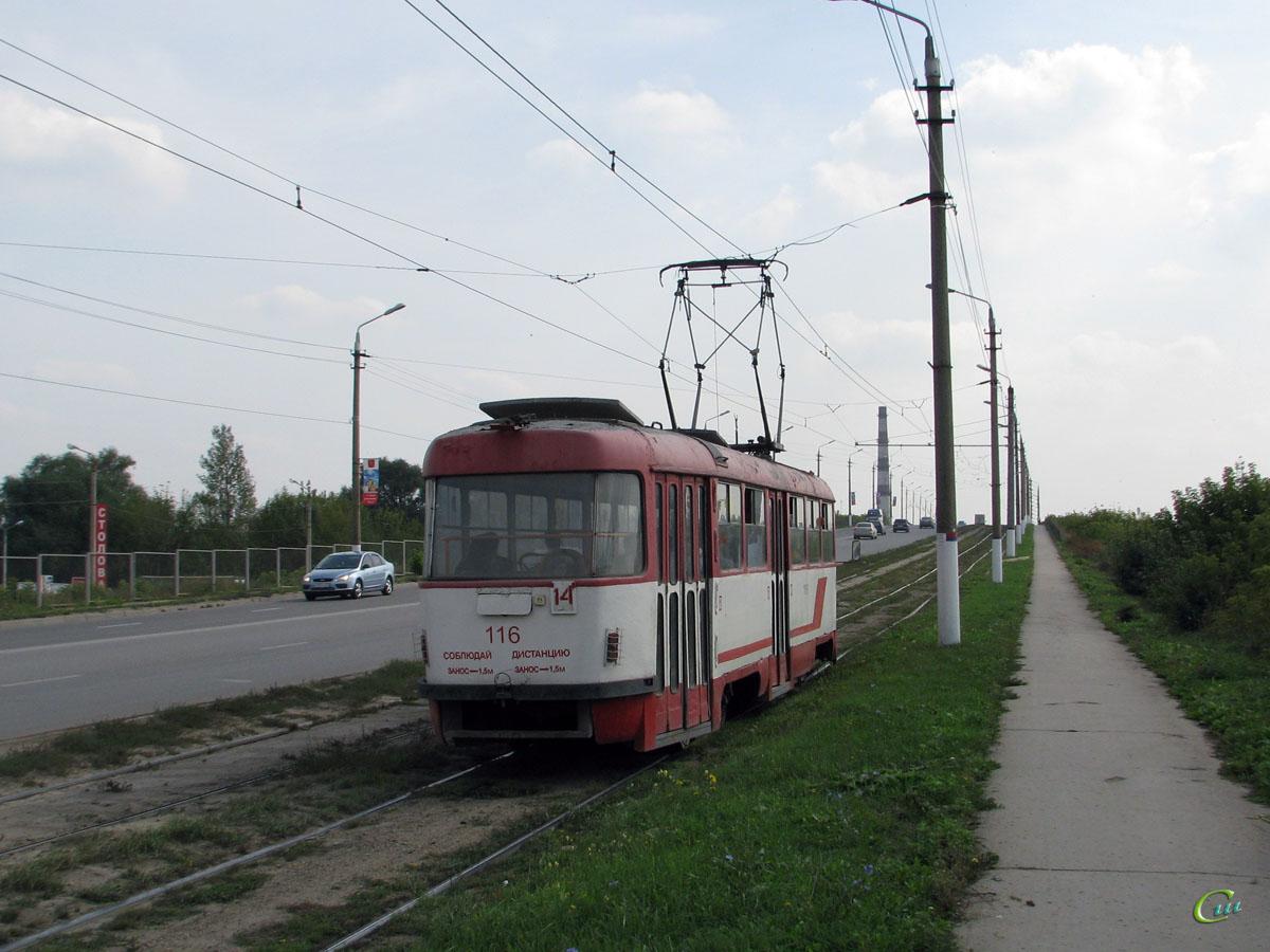 Тула. Tatra T3SU №116