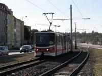 Прага. Tatra KT8D5 №9071