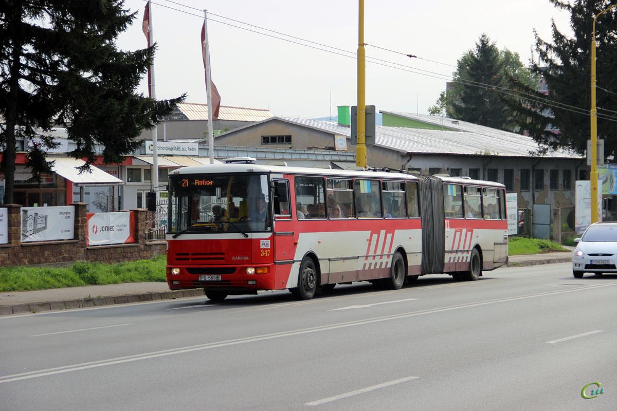 Прешов. Karosa B961 PO-569BE