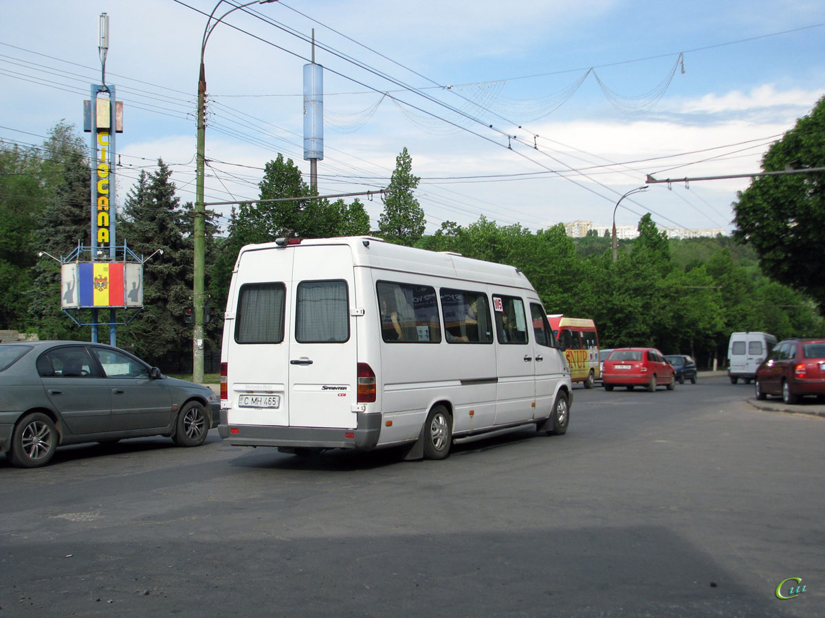 Кишинев. Mercedes Sprinter C MH 465
