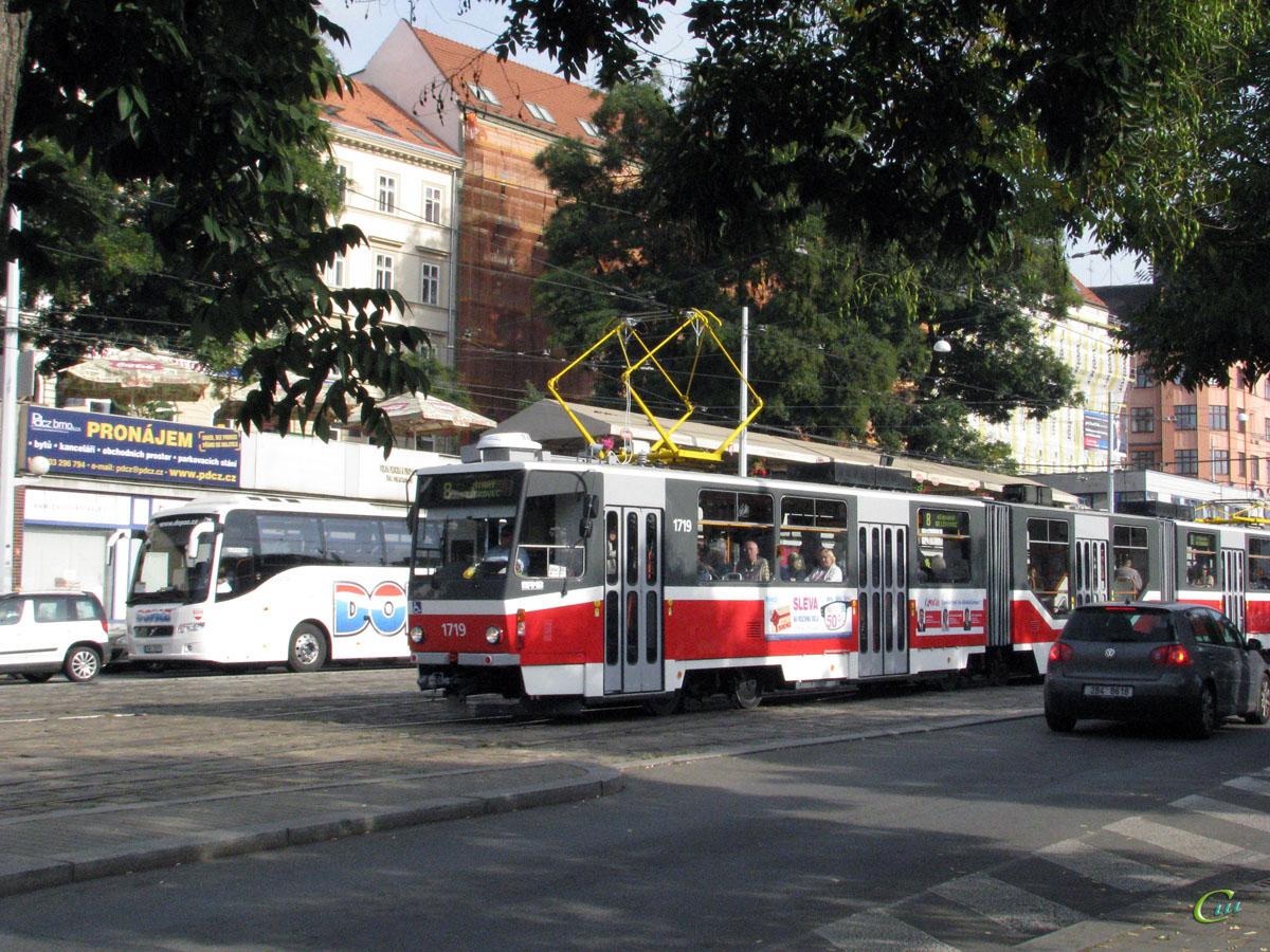 Брно. Tatra KT8D5 №1719