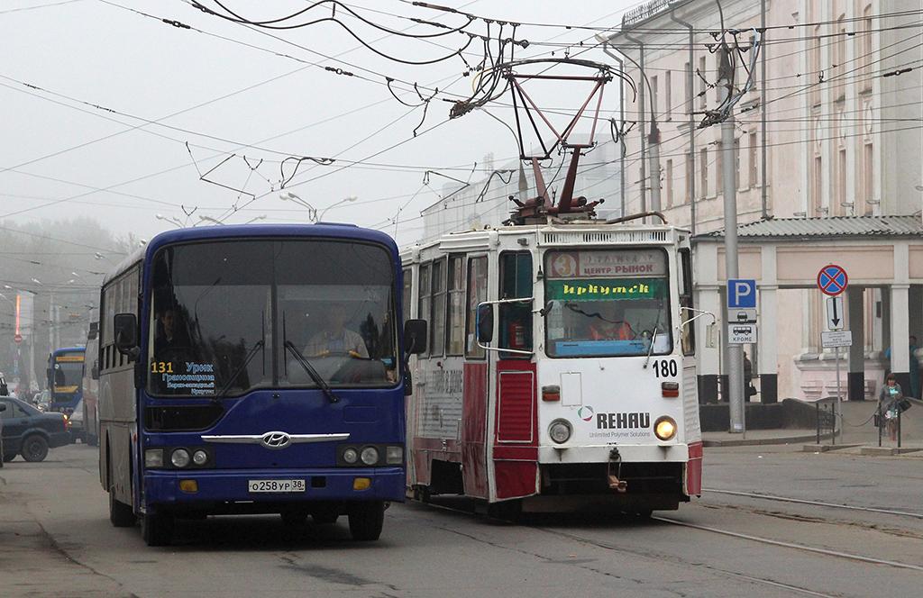 Иркутск. 71-605 (КТМ-5) №180, Hyundai AeroCity 540 о258ур