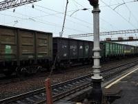 Хабаровск. Гидроколонка на платформе между главными путями станции Волочаевка-1