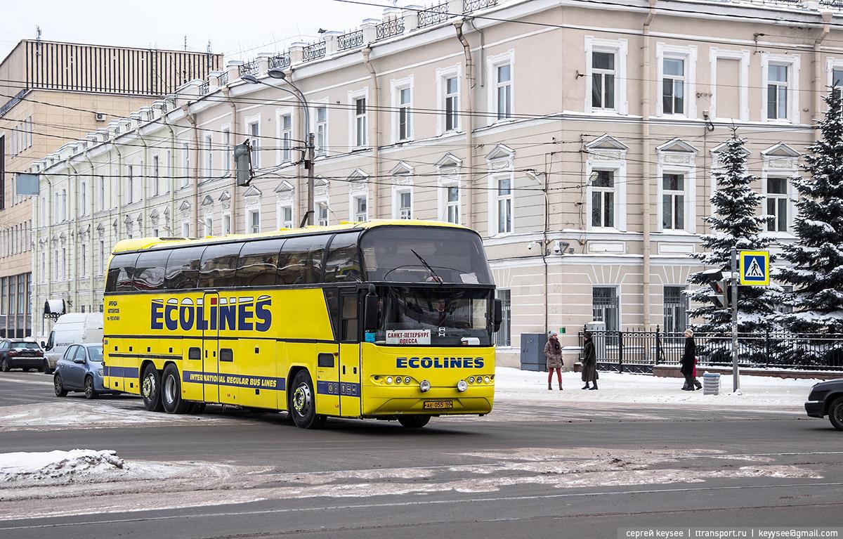 Санкт-Петербург. Neoplan N118/3H Cityliner ае055