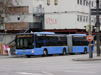 Мюнхен. MAN A23 Lion's City NG313 M-VG 5521