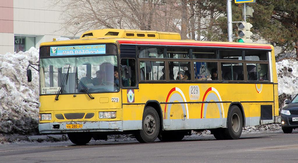 Комсомольск-на-Амуре. Daewoo BS106 ка280
