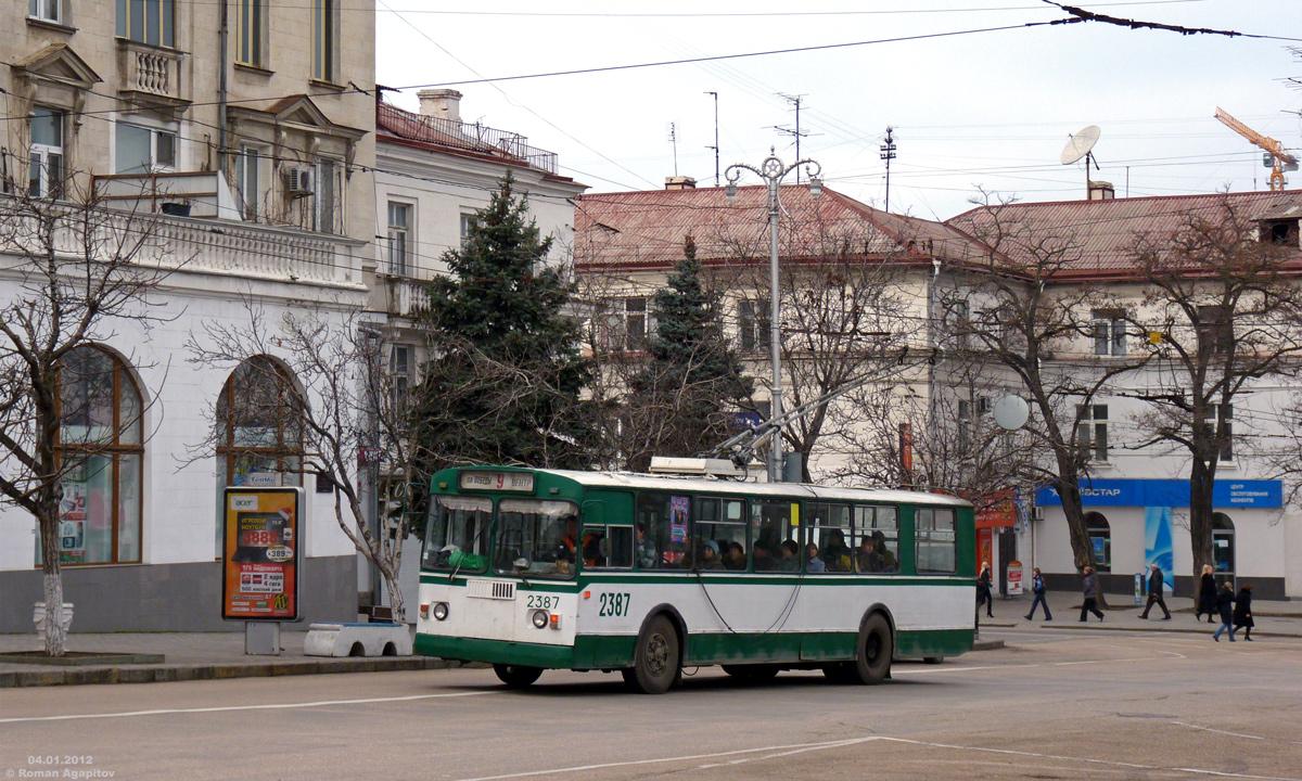 Севастополь. ЗиУ-682Г00 №2387