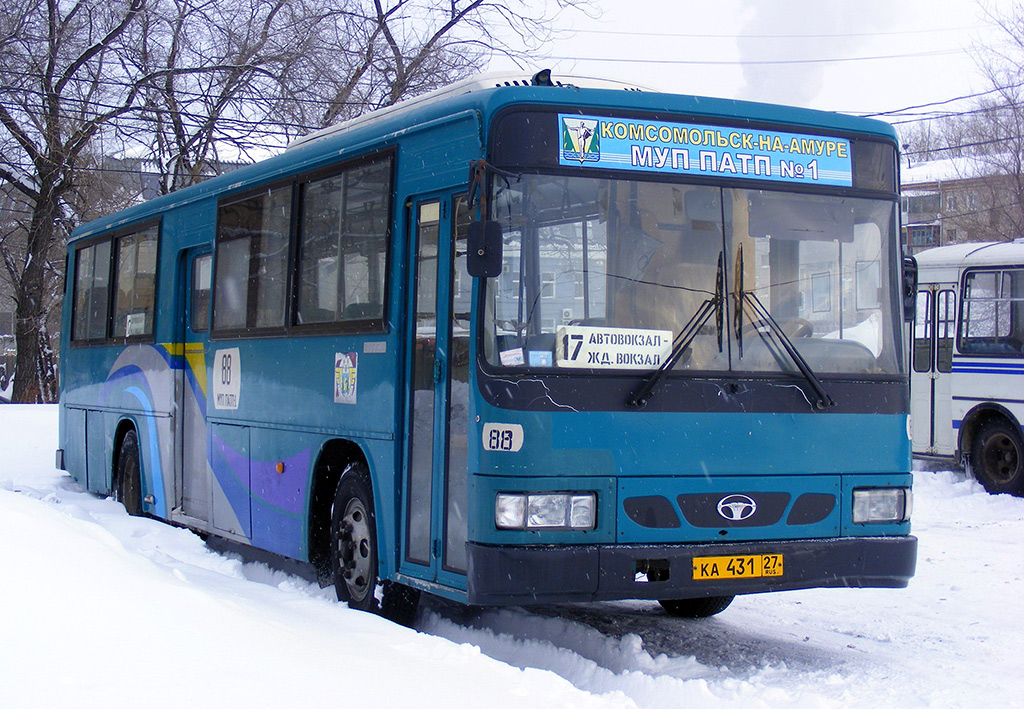 Комсомольск-на-Амуре. Daewoo BS106 ка431