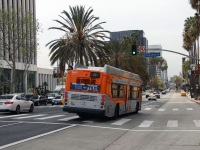 Лос-Анджелес. New Flyer XN40 1442021