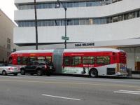 Лос-Анджелес. NABI 60-BRT №9251