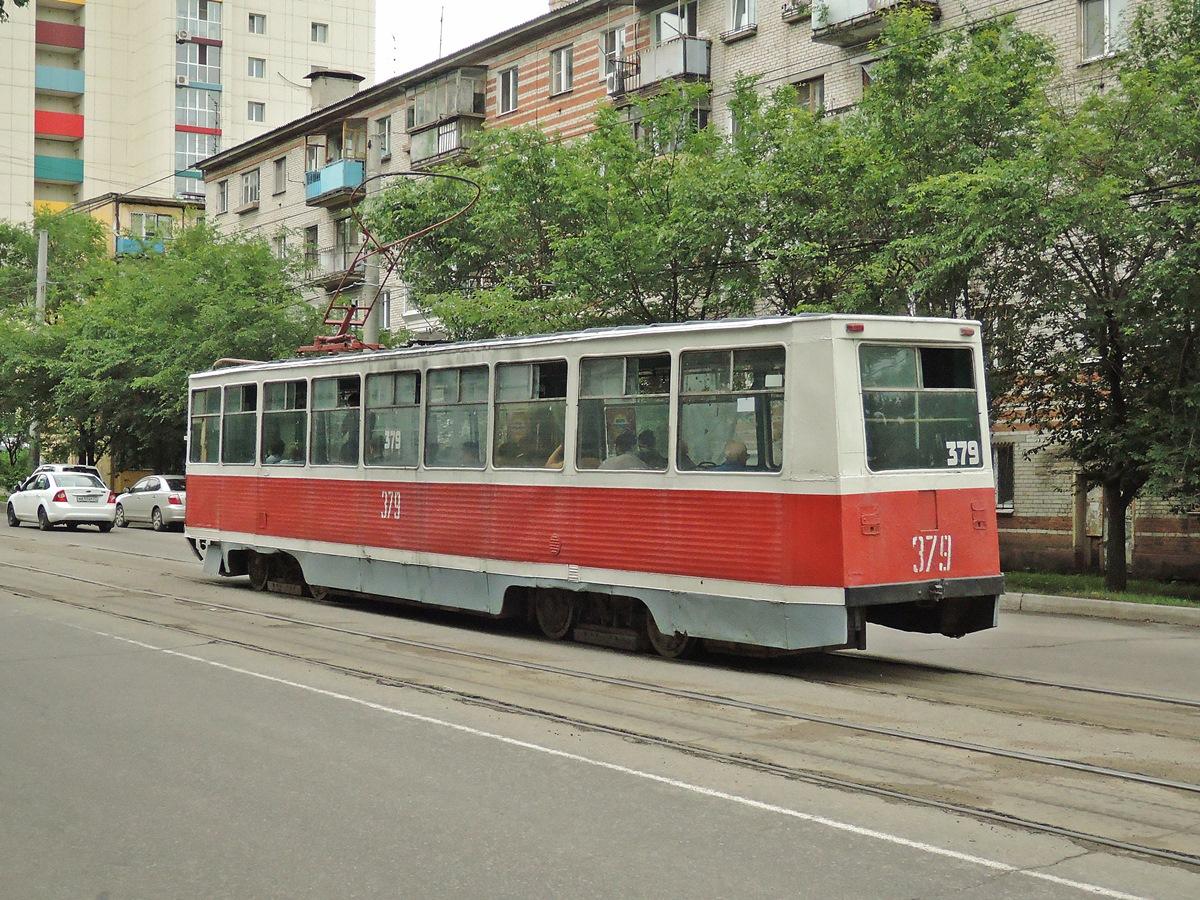 Хабаровск. 71-605А (КТМ-5А) №379
