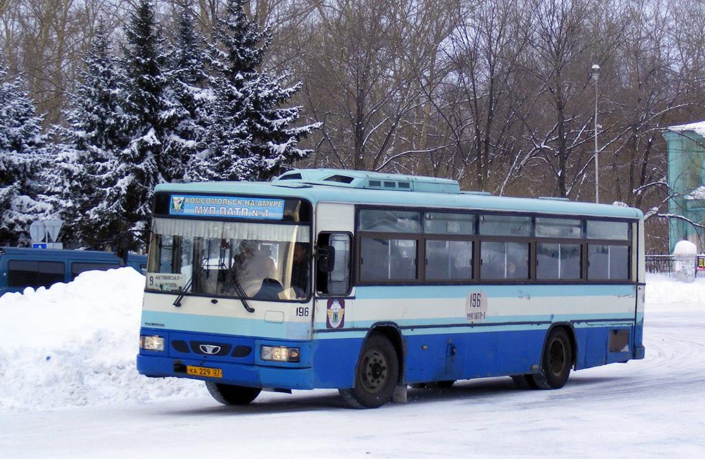 Комсомольск-на-Амуре. Daewoo BS106 ка229