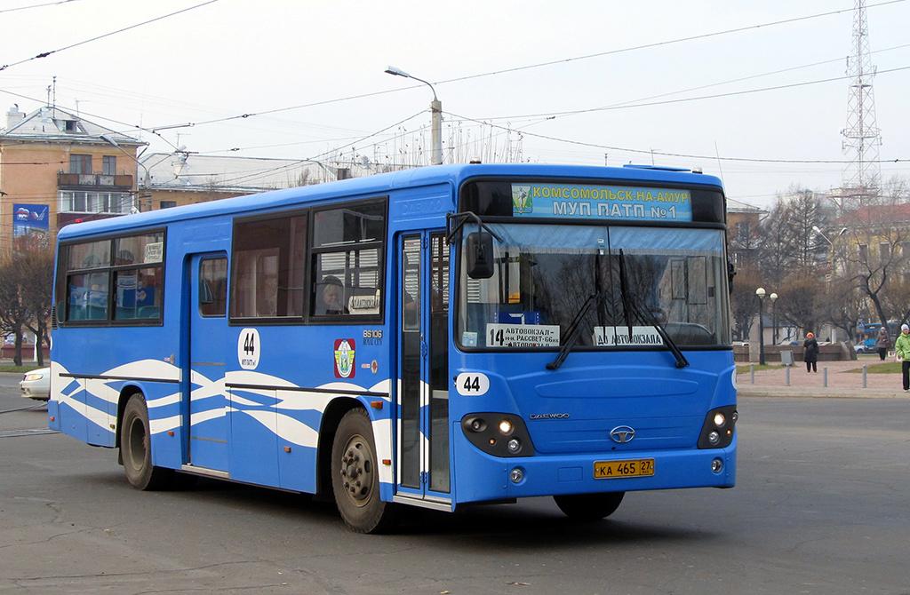 Комсомольск-на-Амуре. Daewoo BS106 ка465