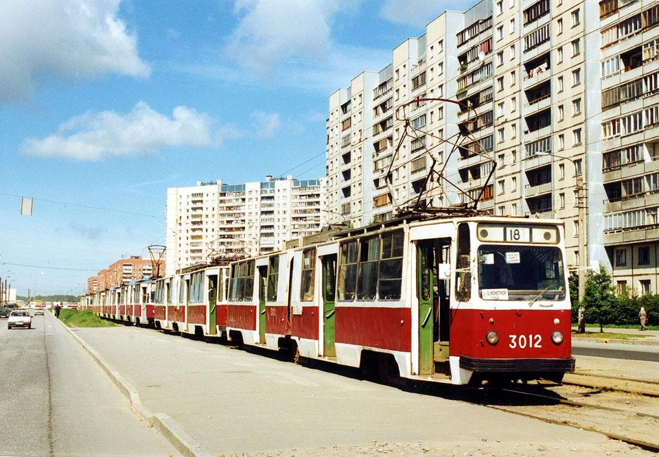 Санкт-Петербург. ЛВС-86К №3012