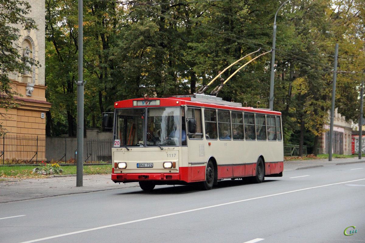 Вильнюс. Škoda 14Tr11/6 №1117
