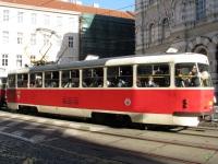 Прага. Tatra T3 №8389