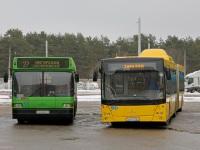 Минск. МАЗ-103.062 AA8492-7, МАЗ-215.069 AO2228-7