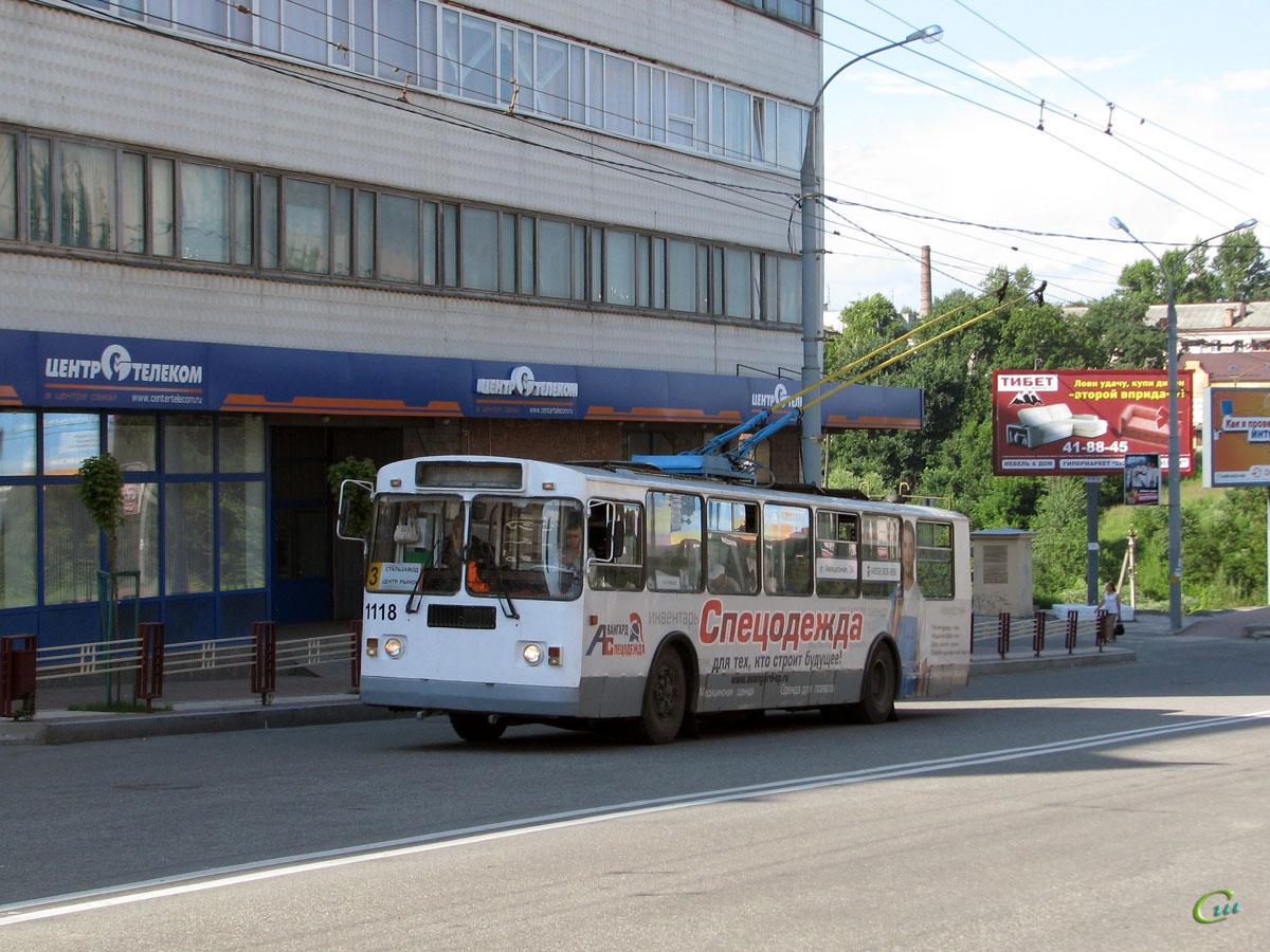 Брянск. ЗиУ-682Г-012 (ЗиУ-682Г0А) №1118