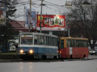 Таганрог. 71-605 (КТМ-5) №287, 71-608К (КТМ-8) №347