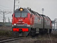 Батайск. 2ТЭ25КМ-0016