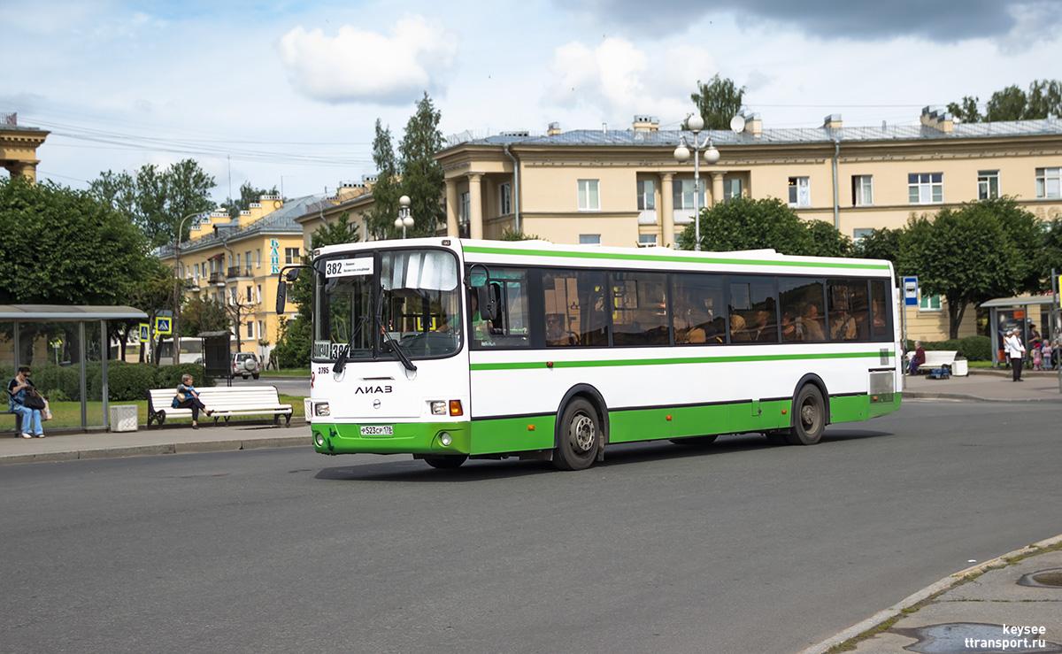 Санкт-Петербург. ЛиАЗ-5293.60 р523ср