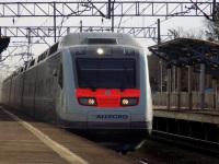 Санкт-Петербург. Скоростной поезд Sm6 Allegro, маршрут Санкт-Петербург-Хельсинки