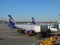 Москва. Самолет Airbus A320 (VP-BNL) Александр Суворов авиакомпании Аэрофлот