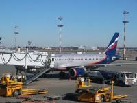 Москва. Самолет Airbus A320 (VQ-BPU) Дмитрий Лихачев авиакомпании Аэрофлот