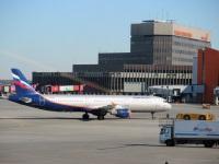 Москва. Самолет Airbus A321 (VQ-BEI) Сергей Королев авиакомпании Аэрофлот