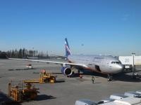 Москва. Самолет Airbus A330 (VQ-BBG) Николай Гоголь авиакомпании Аэрофлот