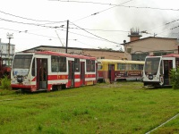 Хабаровск. 71-134А (ЛМ-99АВН) №107, 71-134А (ЛМ-99АВН) №104, РВЗ-6М2 №343